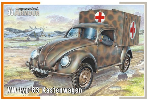 Special Hobby Military 1/35 VW Type 83 Kastenwagen (Ambulance Van) Kit