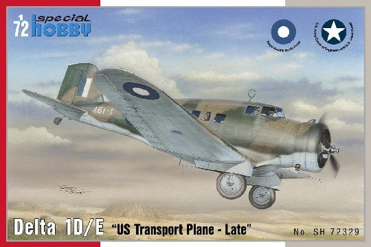 Special Hobby Aircraft 1/72 Delta 1D/E Late US Transport Aircraft Kit