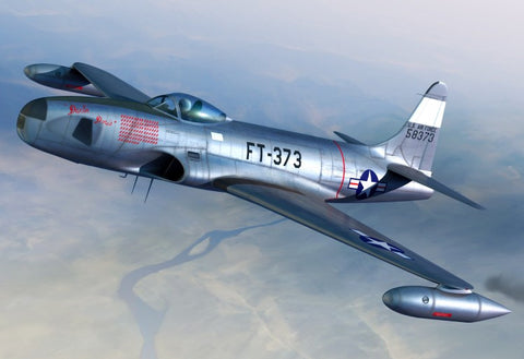 Sword Aircraft 1/72 RF80A over Korea USAF Fighter Kit