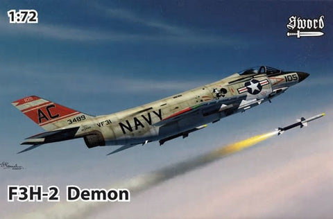 Sword Aircraft 1/72 F3H2 Demon USN Fighter Kit