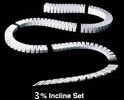 "Woodland Scenics Sub Terrain 3"" Foam Incline Set (0 to 4 rise, 12' long)"