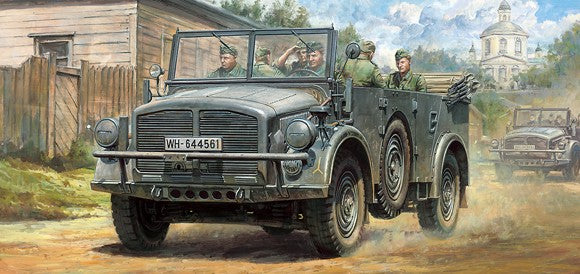 Tamiya Military 1/48 German Horch Type 1a Vehicle (New Tool) Kit