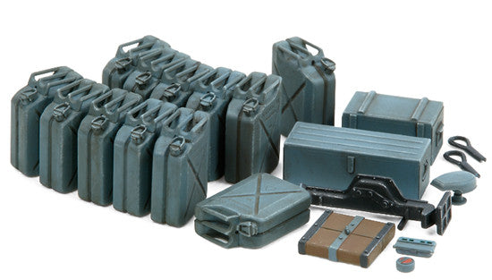 Tamiya Military 1/35 German Early Jerry Can Set (12) Kit