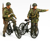 Tamiya Military 1/35 British Paratroopers (2) w/Bicycles Kit