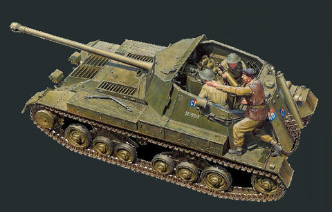 Tamiya Military 1/35 British Archer Tank w/Self-Propelled Gun (New Tool) Kit