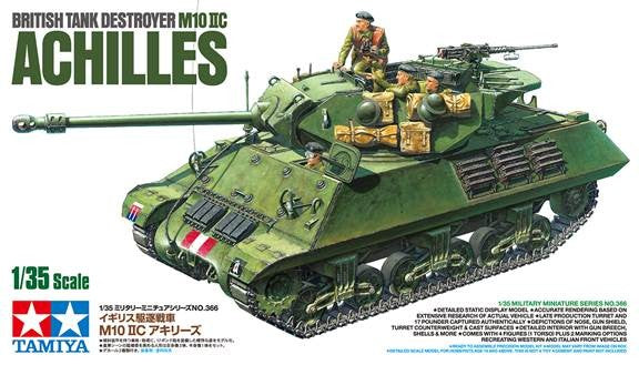 Tamiya Military 1/35 British M10 IIC Achilles Tank Destroyer Kit