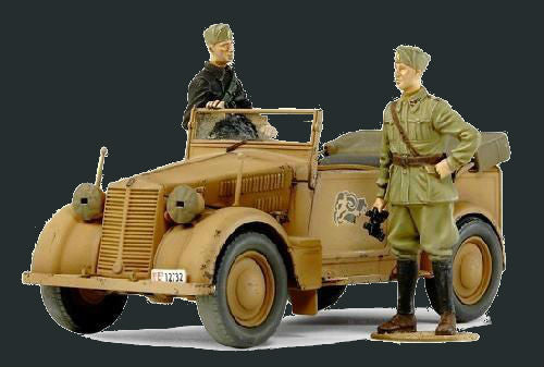 Tamiya Military 1/35 508CM Coloniale Staff Car Kit