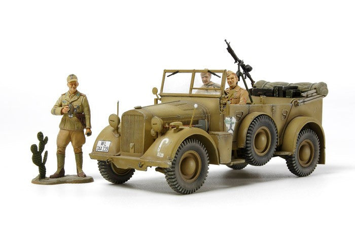 Tamiya Military 1/35 German Horch Kfz15 Vehicle N African Campaign Kit