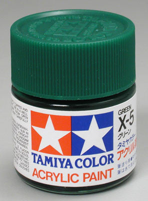 Tamiya Acrylic X5 Gloss Green 23 ml Bottle