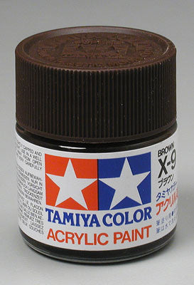 Tamiya Acrylic X9 Gloss Brown 23 ml Bottle