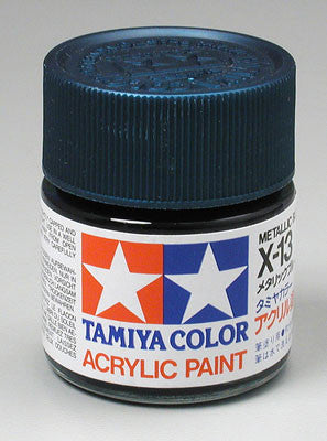 Tamiya Acrylic X13 Gloss Metallic Blue 23 ml Bottle