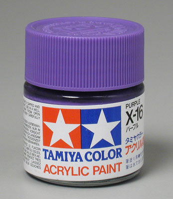 Tamiya Acrylic X16 Gloss Purple 23 ml Bottle