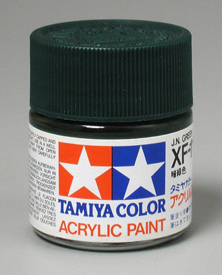 Tamiya Acrylic XF13 Japanese Army Green 23 ml Bottle
