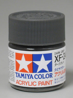 Tamiya Acrylic XF24 Dark Gray 23 ml Bottle