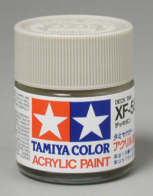Tamiya Acrylic XF55 Deck Tan 23 ml Bottle