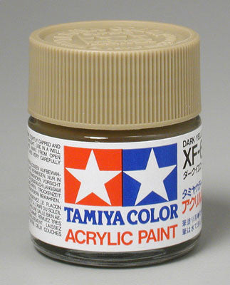 Tamiya Acrylic XF60 Dark Yellow 23 ml Bottle