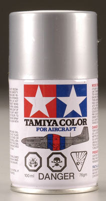 Tamiya AS Bare Metal Silver Aircraft Lacquer Spray
