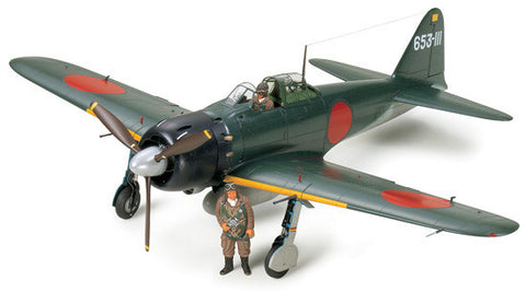 Tamiya Aircraft 1/32 A6M5 Mod 52 Zeke Zero Fighter Kit