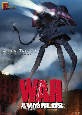 Pegasus Sci-Fi 1/144 War of the Worlds: Alien Tripod Kit