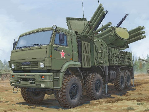 Trumpeter Military 1/35 Russian 72V6E4 Combat Vehicle of 96K6 Pantsir-S1 ADMGS (New Tool) Kit