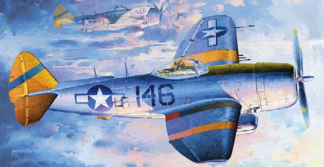 Trumpeter Aircraft 1/32 P47N Thunderbolt Fighter Kit