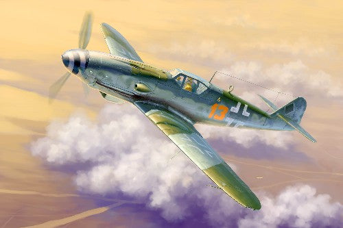 Trumpeter Aircraft 1/32 Messerschmitt Bf109K4 German Fighter Kit