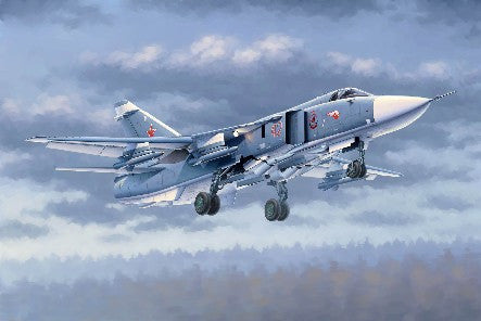 Trumpeter Aircraft 1/48 Sukhoi Su24M Fencer D Russian Attack Aircraft Kit