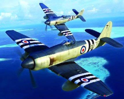 Trumpeter Aircraft 1/48 Hawker Sea Fury FB11 Fighter Kit