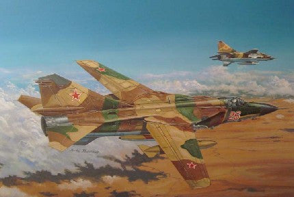Trumpeter Aircraft 1/48 MiG23ML Flogger G Russian Fighter Kit