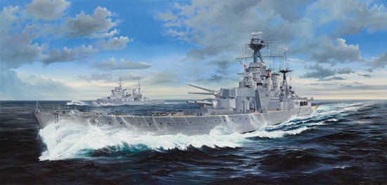 Trumpeter Ship 1/200 HMS Hood British Battle Cruiser Kit