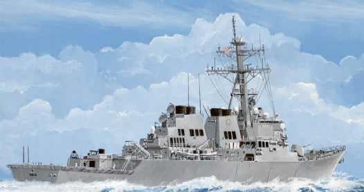 Trumpeter Ship Models 1/350 USS Cole DDG67 Arleigh Burke Class Guided Missile Destroyer Kit