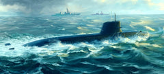 Trumpeter Ship Models 1/144 Japanese Soryu Class Attack Submarine Kit