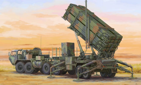 Trumpeter Military 1/72 M983 HEMTT Tractor & M901 Launching Station w/MIM104F patriot SAM System (PAC3) (New Tool) Kit