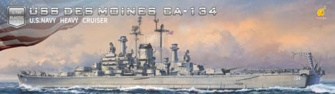 Very Fire 1/700 USS Des Moines CA134 Heavy Cruiser (New Tool) Kit