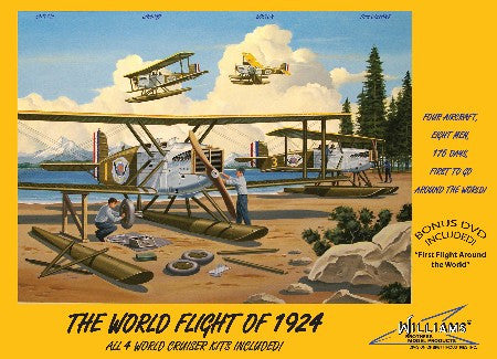 Williams Brothers Aircraft 1/72 The World Flight of 1924 BiPlane Cruisers (4 Kits)