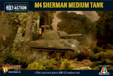 Warlord Games 28mm Bolt Action: WWII M4 Sherman US Medium Tank Kit