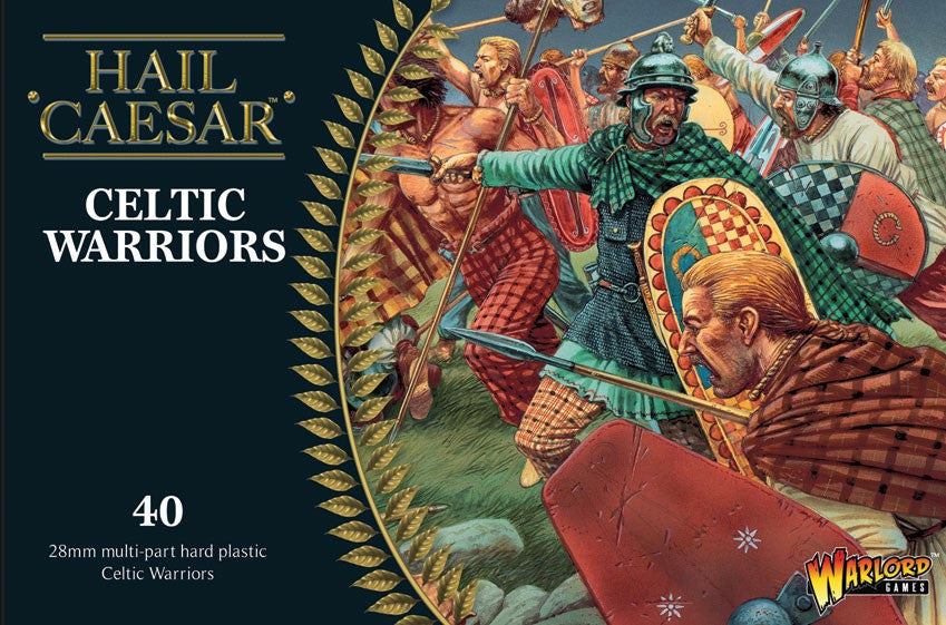 Warlord Games 28mm Hail Caesar: Celtic Warriors (40) (Plastic)