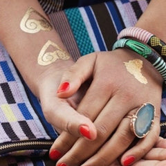 Africa-inspired Temporary Tattoos