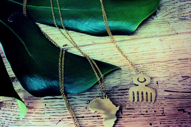 Africa / Adinkra Necklace