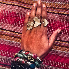 The Big Sankofa Ring