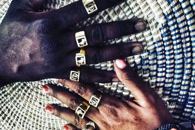 The bold Africa Ring (unisex)
