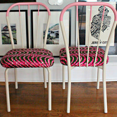 Vintage Cotton Candy Chairs