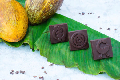 Adinkra Chocolate made in Ghana
