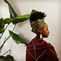 Duafe & Sankofa Statement Earrings