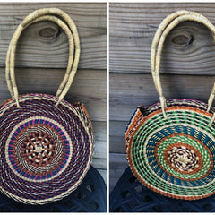 Full Moon Basket Bag
