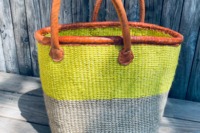 Color Block Baskets (made in Kenya)