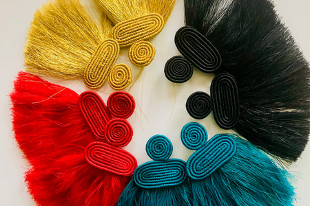 Kobwa Tassel Earrings