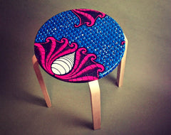 The Lollipop Stool - Limited Edition (7 different prints)