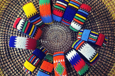 Back in stock: Zulu Beaded Bracelets