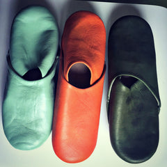 Stylish Babouche Slippers (9 vibrant colors)